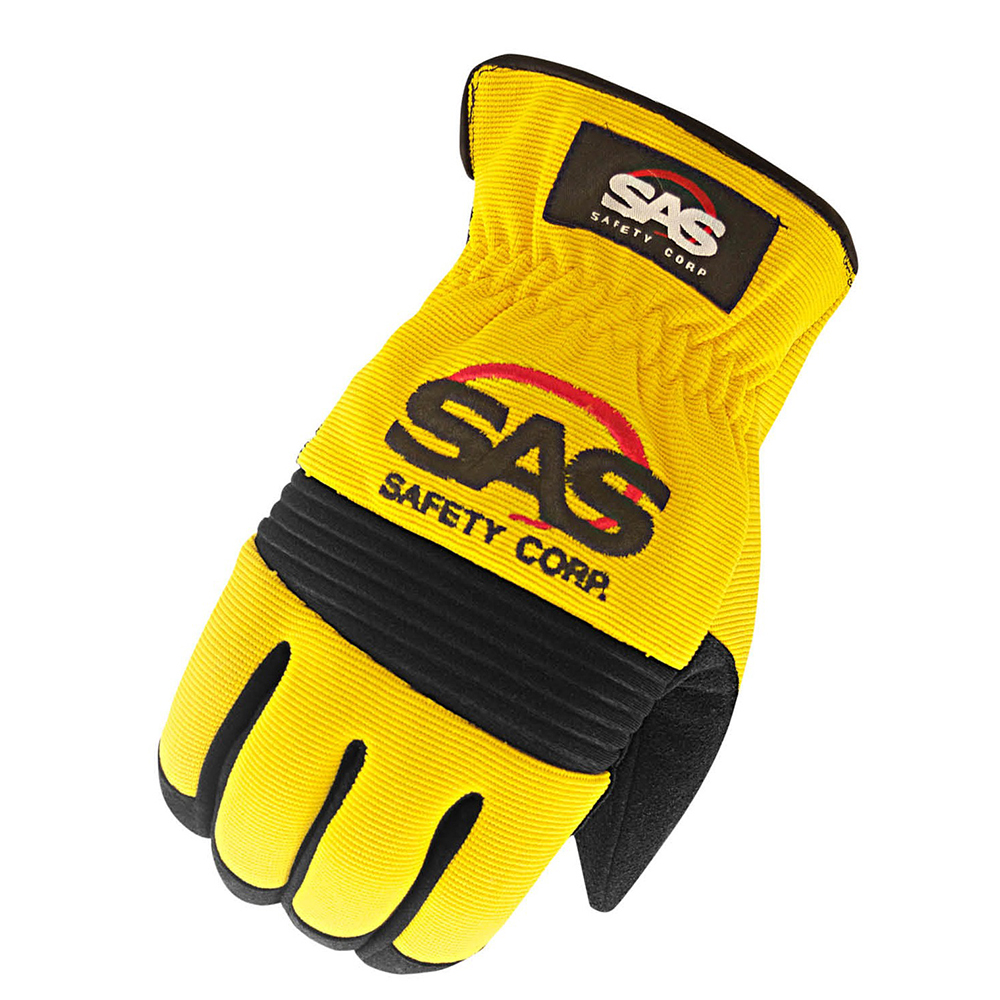 MxS Mechanics Slip On Glove Large Yellow
