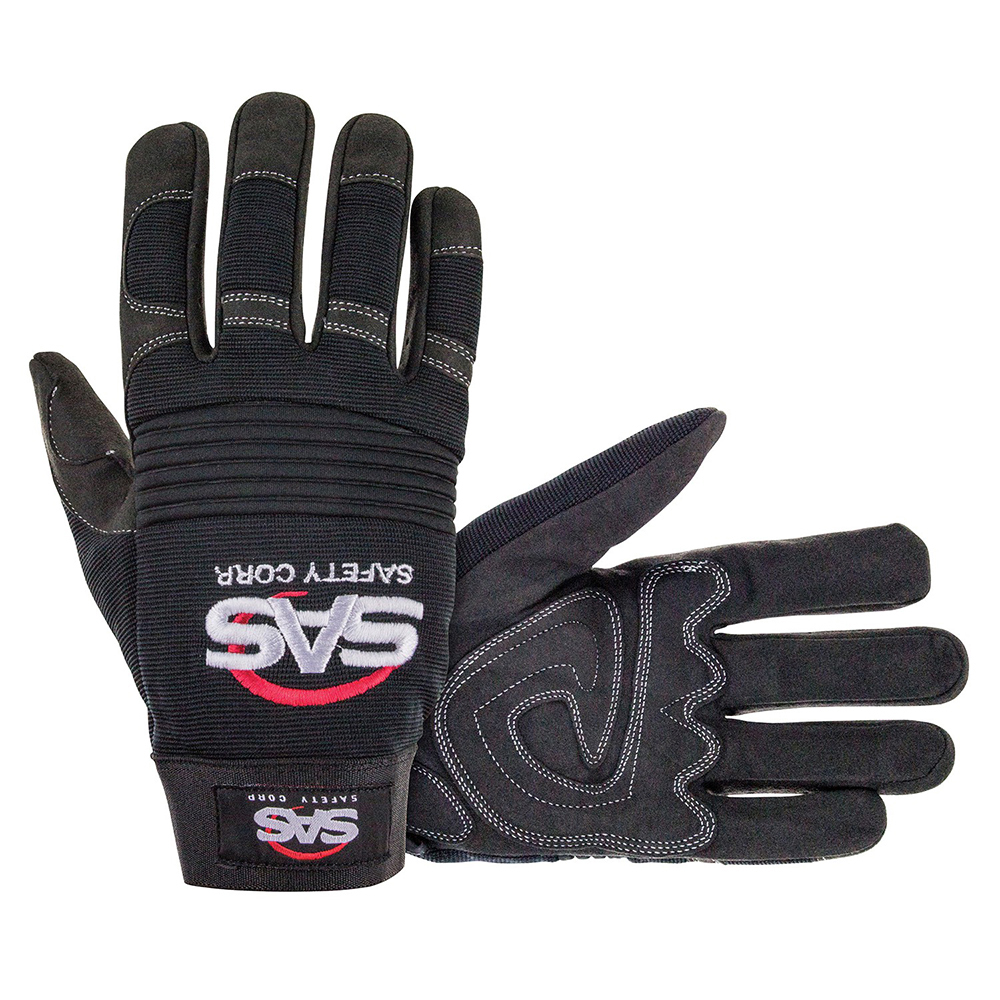 Mechanics Safety Glove Large Black
