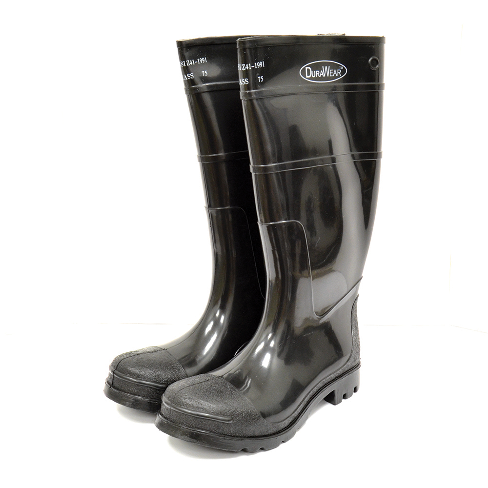 "Rubber Boot 16"" Pvc Size 10"