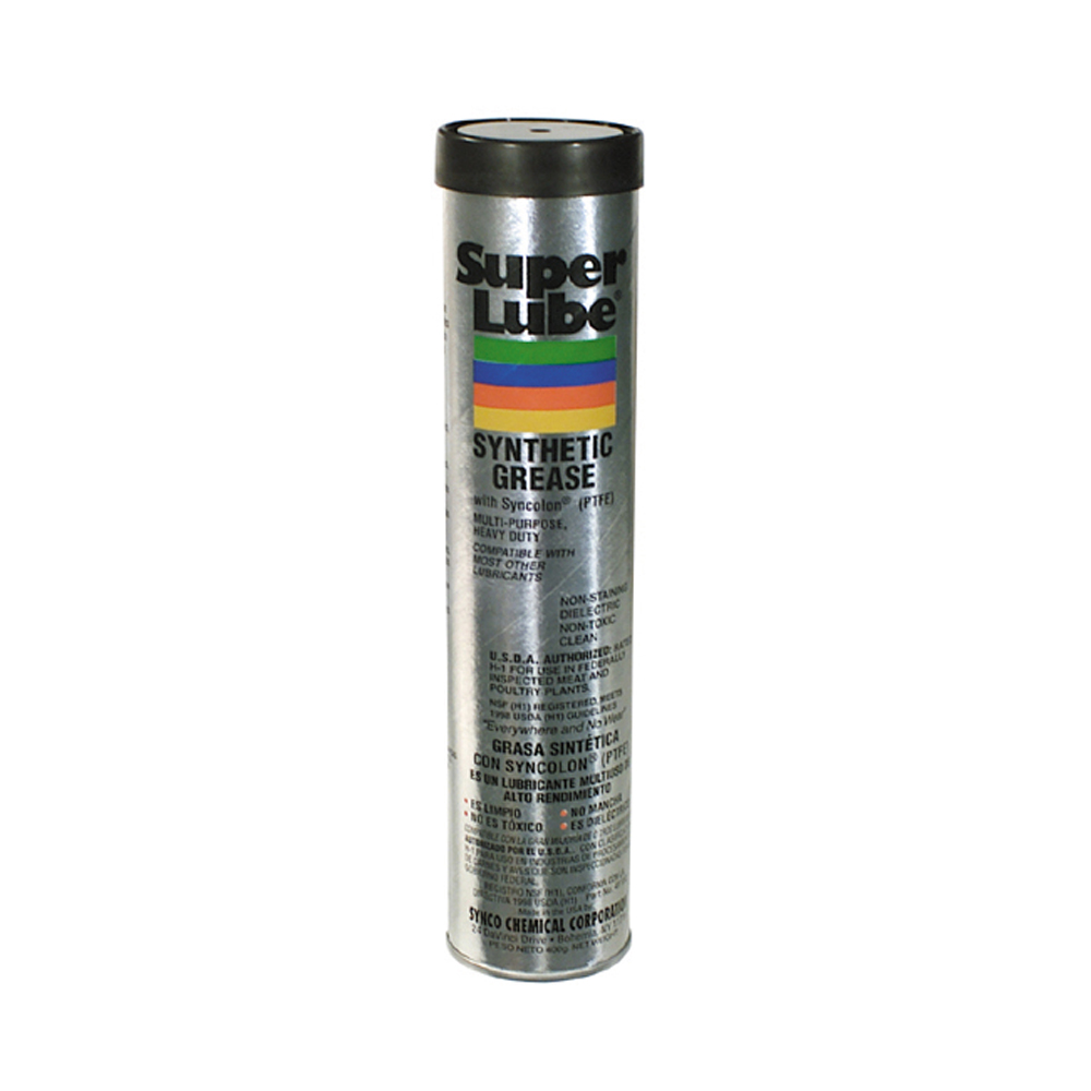 Super Lube Synthetic Grease Cartridge - Net Contents 14 oz