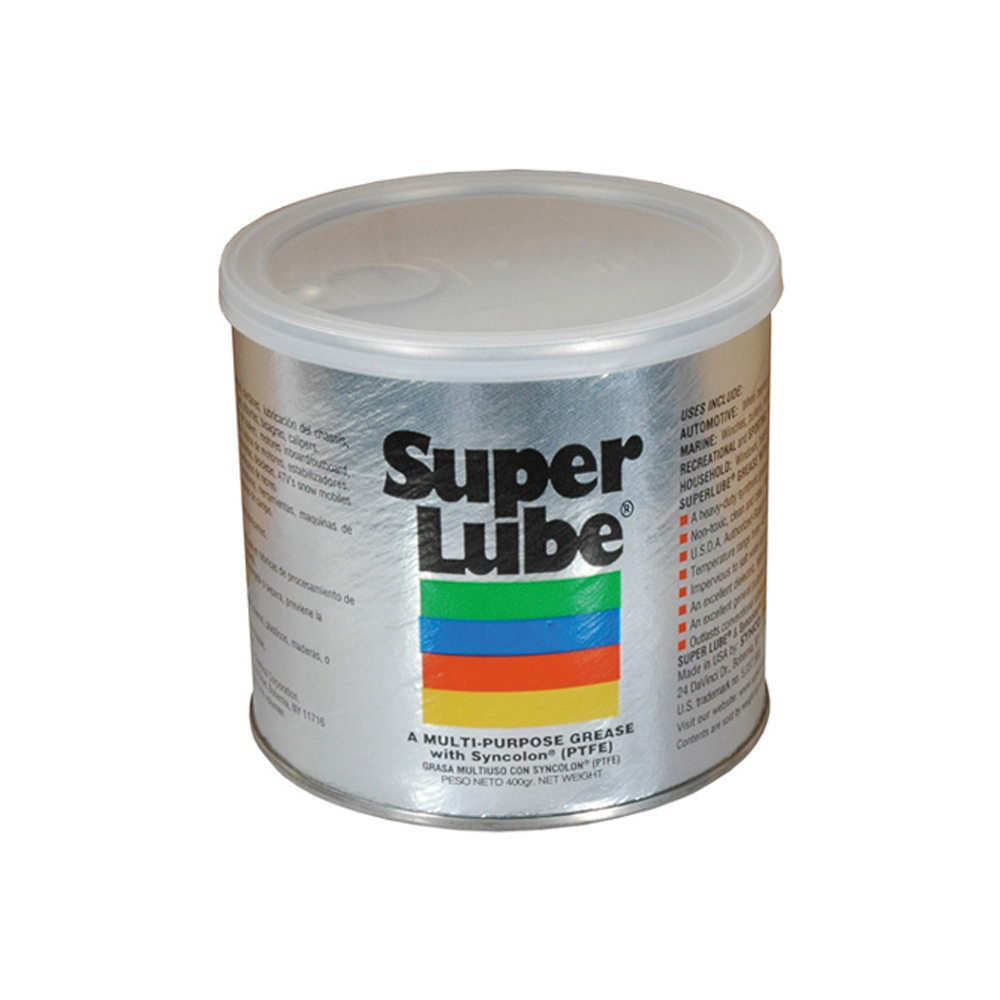 Super Lube Synthetic Grease Tub - Net Contents 14 oz
