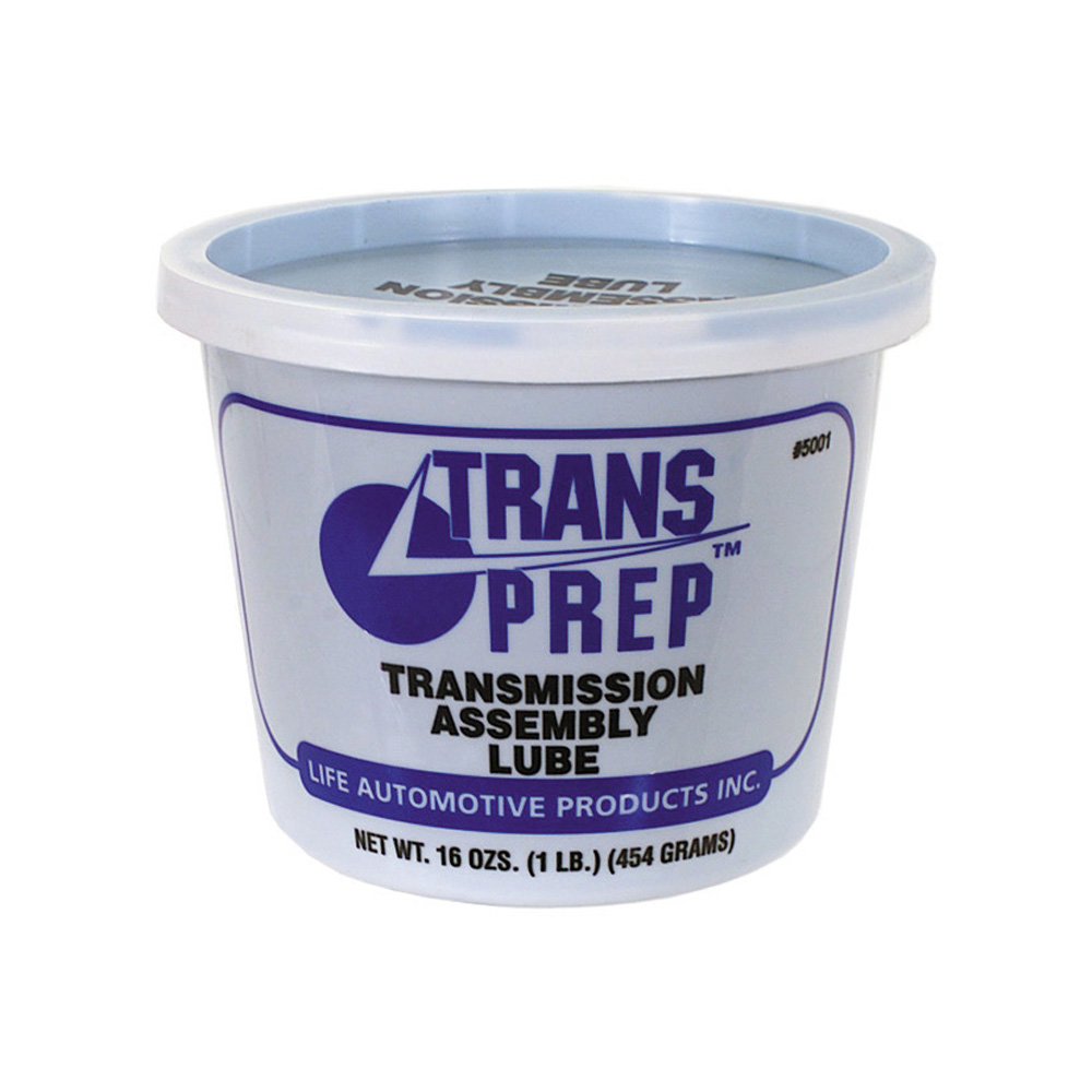 Trans Prep Transmission Assembly Lube Tub - Net Contents 1 Lb