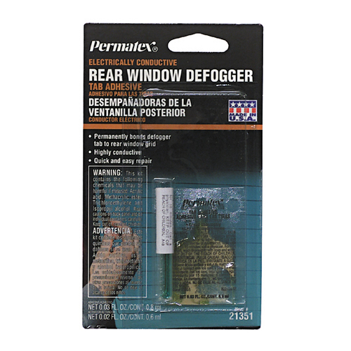 Rear Window Defogger Tab Adhesive Kit