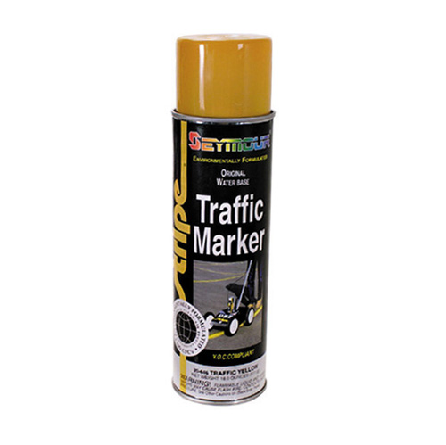 Seymour Traffic Marker High Solids Paint Aerosol Yellow - 20 oz