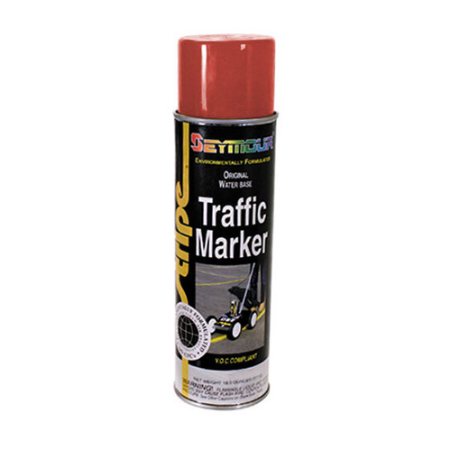 Seymour Traffic Marker High Solids Paint Aerosol Red - 20 oz