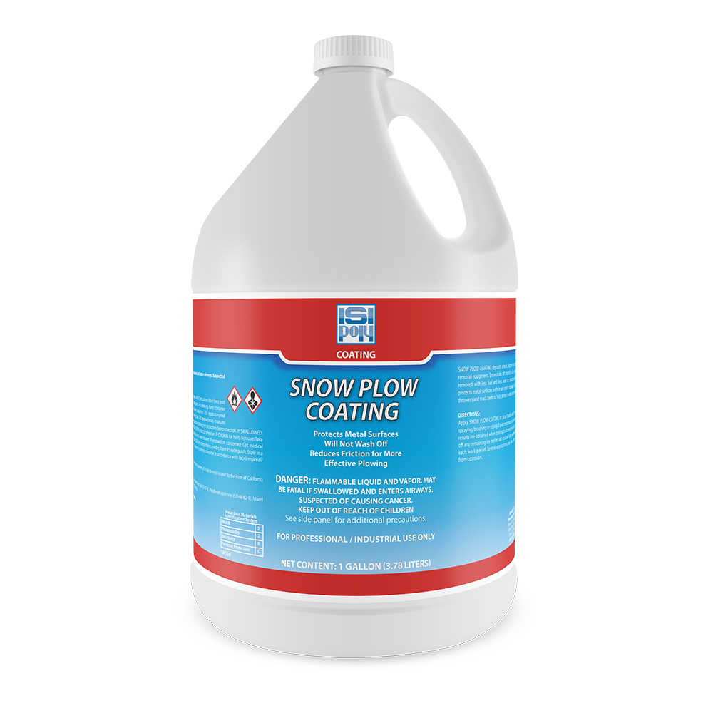Snow Plow Coating - 1 Gallon - Pack of 4
