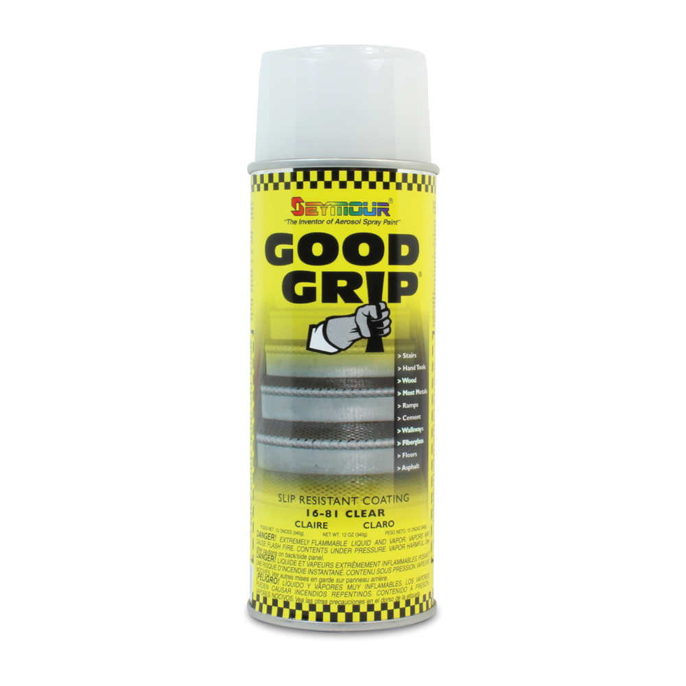 Good Grip Slip Resistant Textured Epoxy Coating Clear Aersosol - 12 oz