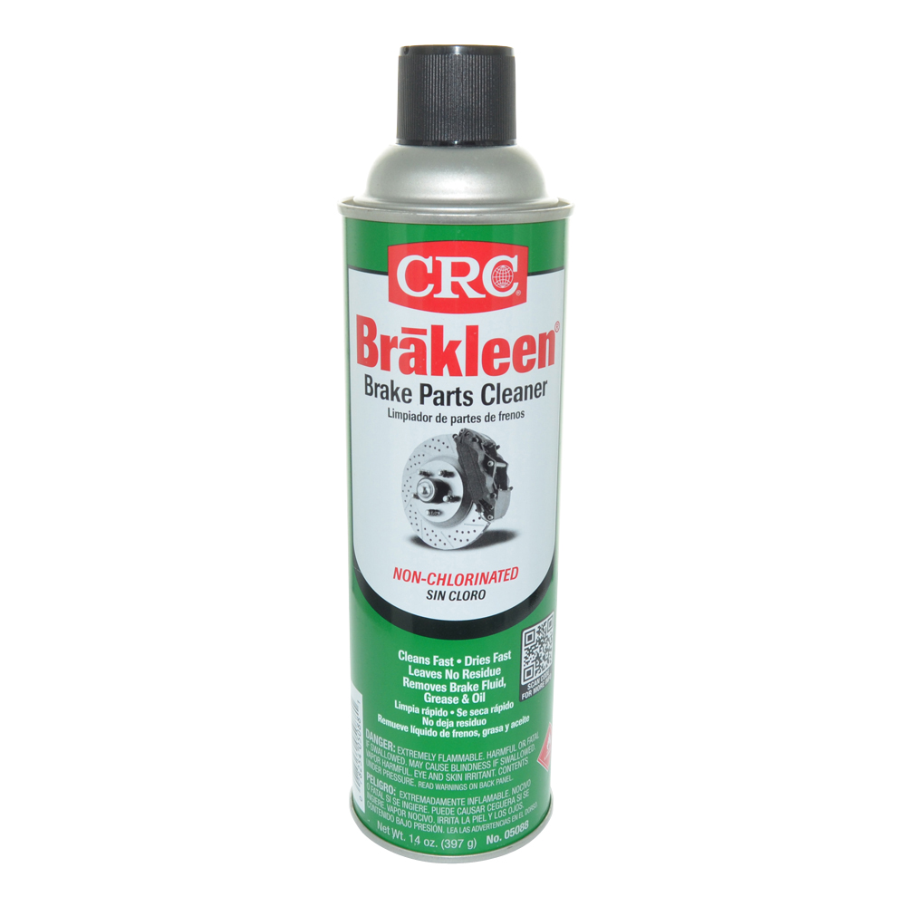 Crc Brakleen Non-Chlorinated Brake and Parts Cleaner Aerosol - Net Contents 14 oz