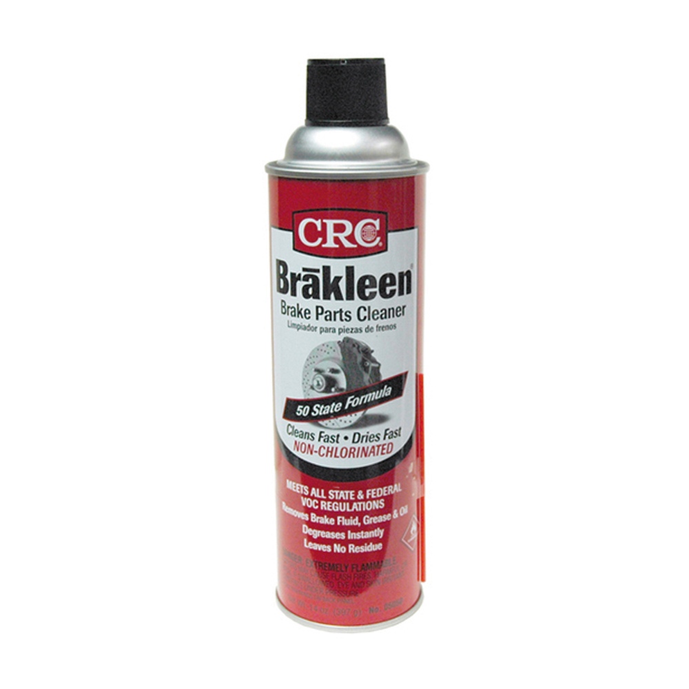 Crc Brakleen 50 State Ultra Low Voc Non-Chlorinated Brake and Parts Cleaner Aerosol - Net Contents 14 oz