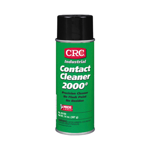 Crc Contact Clean 2000 Non-Flammable Precision Contact Cleaner Aerosol - 15 oz