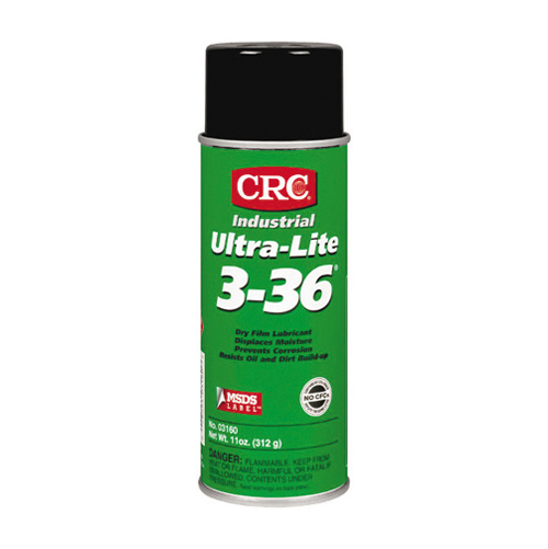 Crc Ultra-Lite 3-36 Greaseless Dry Film Lubricant Aerosol - Net Contents 11 oz