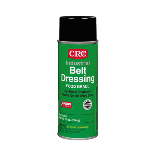 Crc Belt Dressing Food Grade Aerosol - Net Contents 10 oz