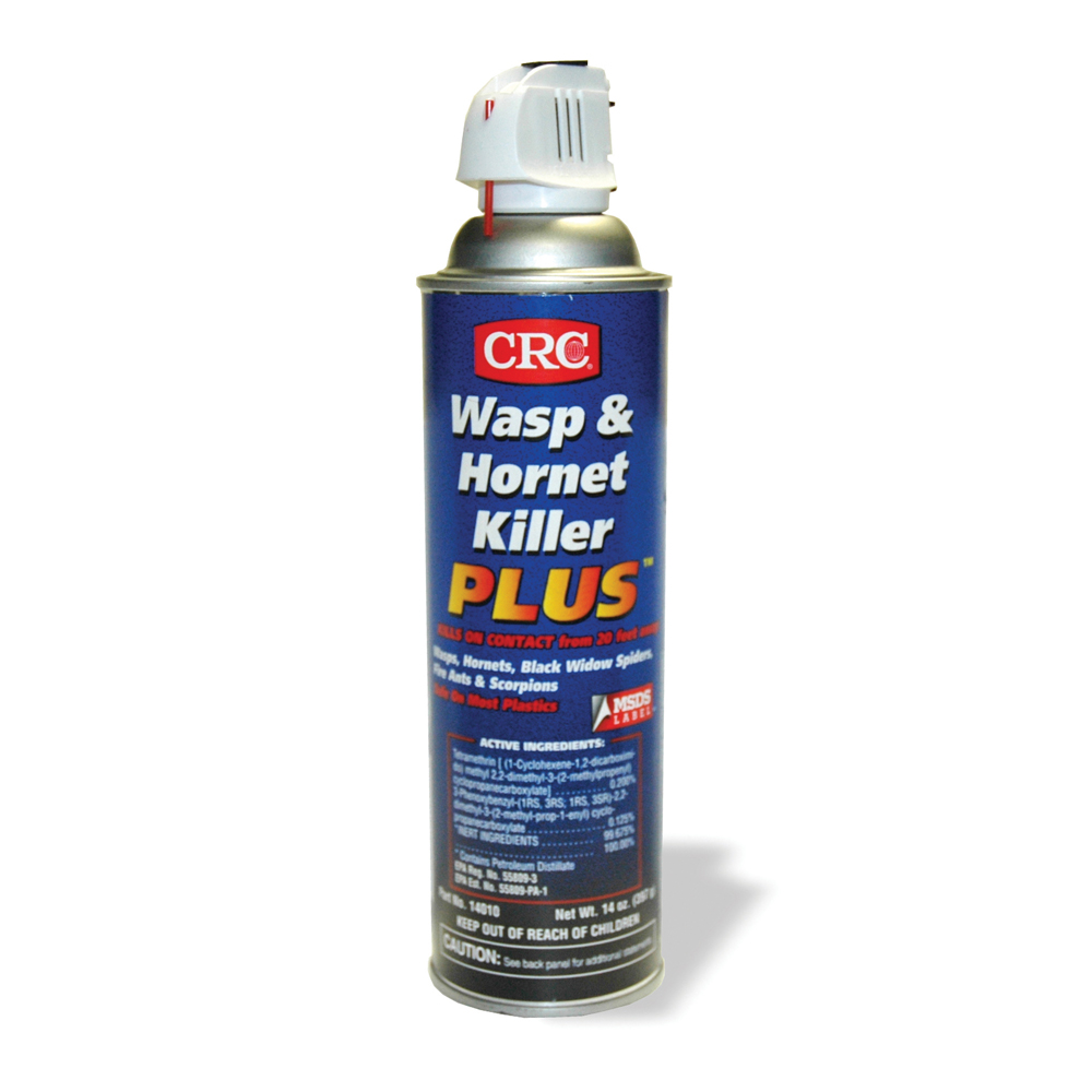 14 oz Crc Wasp and Hornet Killer Plus Insecticide Aerosol