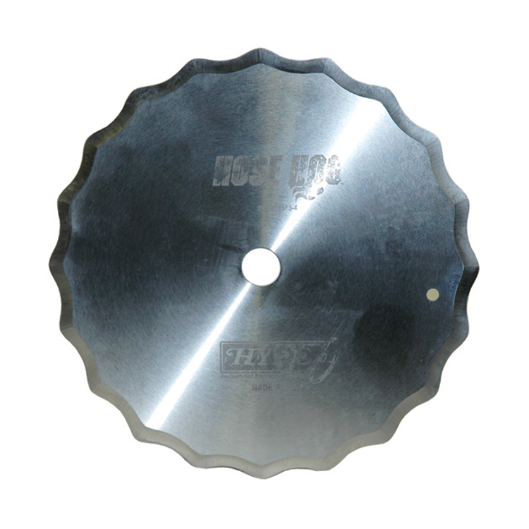 7 Inch Hose Cutting Blade Scalloped