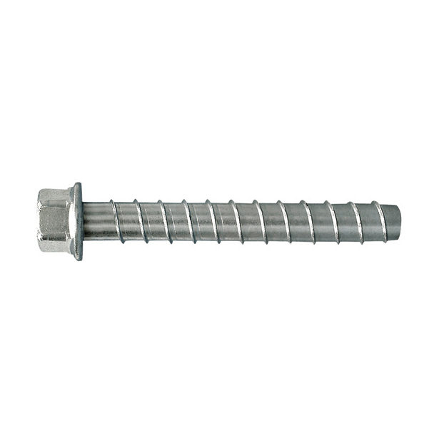 1/2 Inch x 3 Inch Zinc Plated Carbon Steel Titen Hd® Concrete and Masonry Screw Anchor