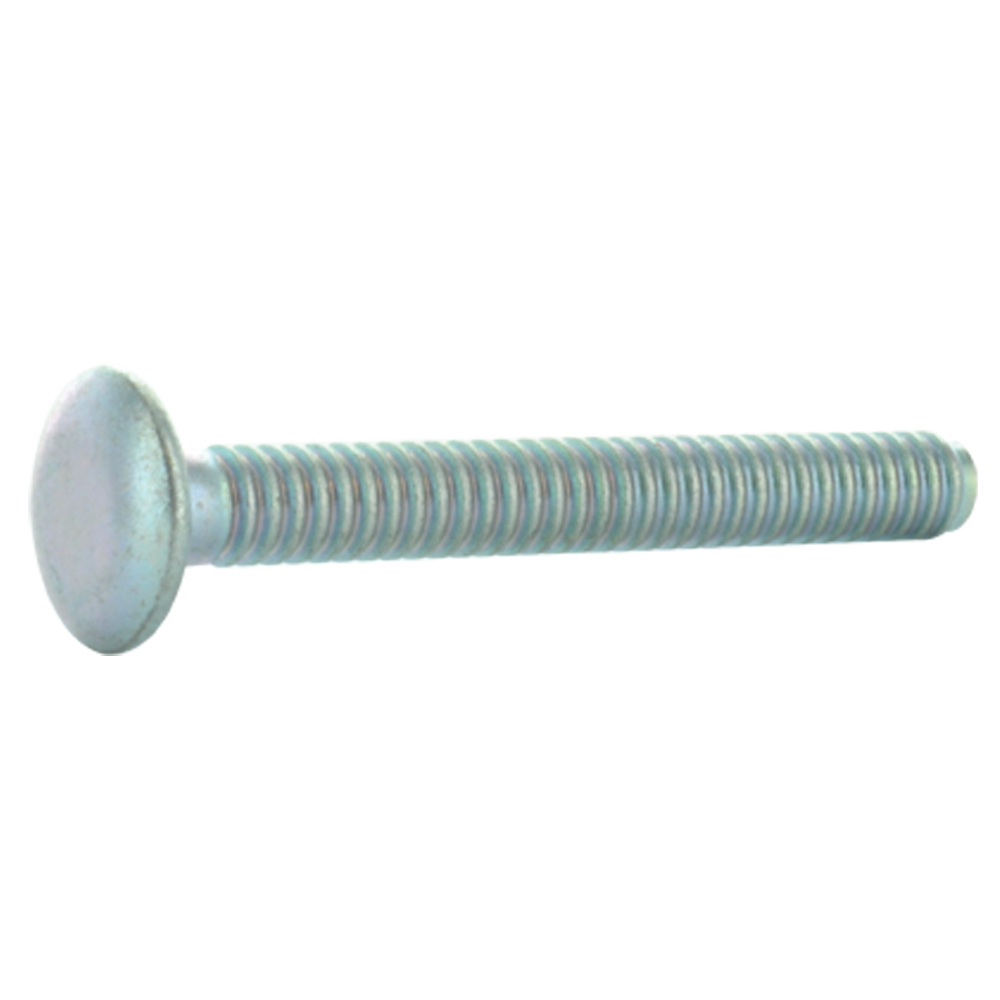1/4 Inch x 1.9650 Inch Steel Truss Head Huck Bolt
