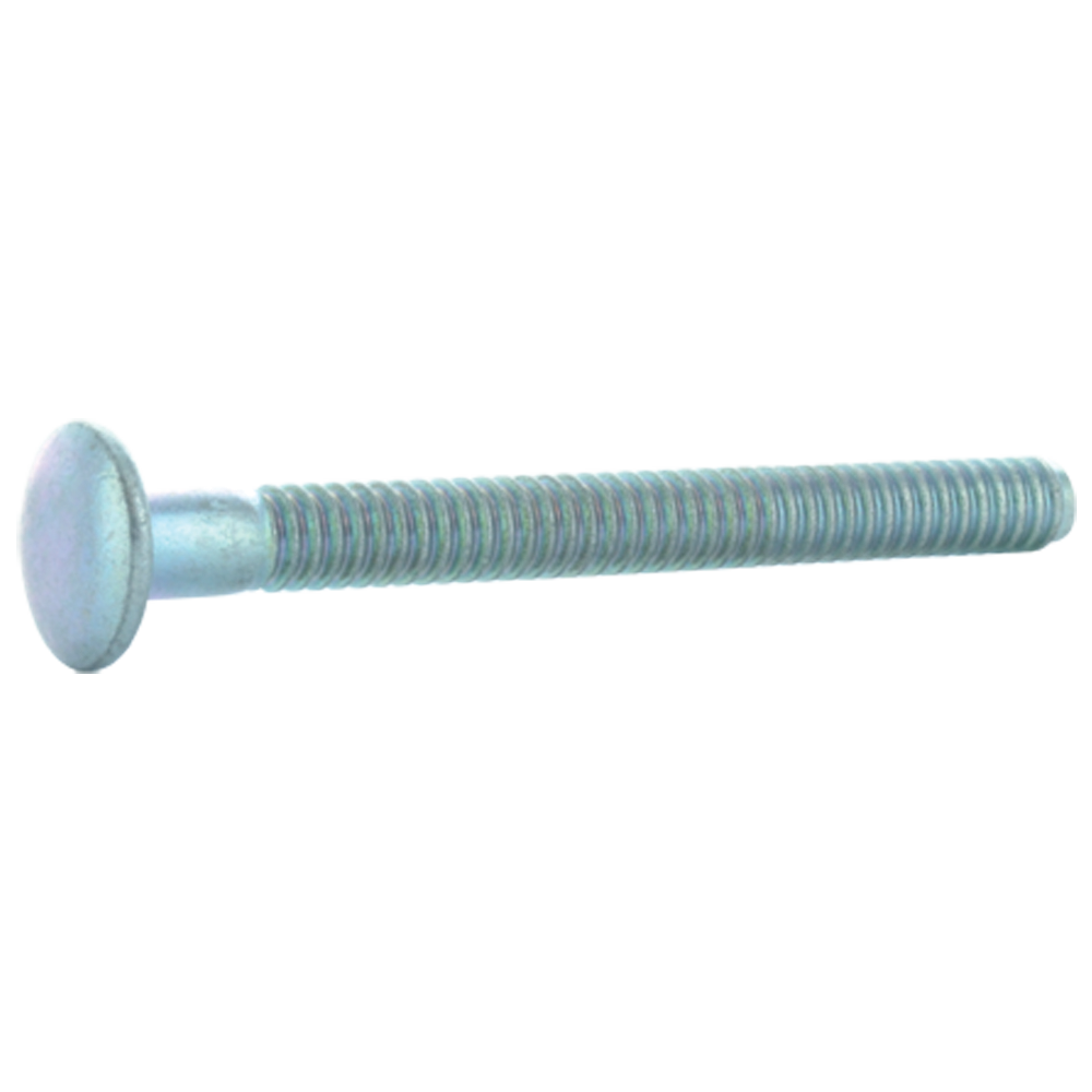 1/4 Inch x 2.560 Inch Steel Truss Head Huck Bolt