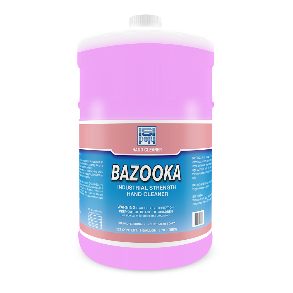 Isi-Poly Bazooka Heavy-Duty Hand Cleaner With Pumice - 1 Gallon