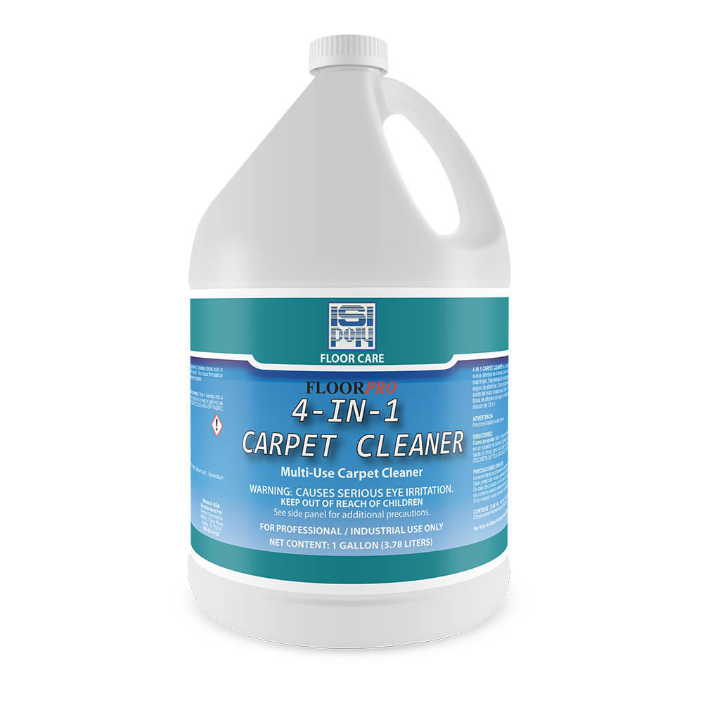1 Gal Isi-Poly 4-In-One Carpet Cleaner
