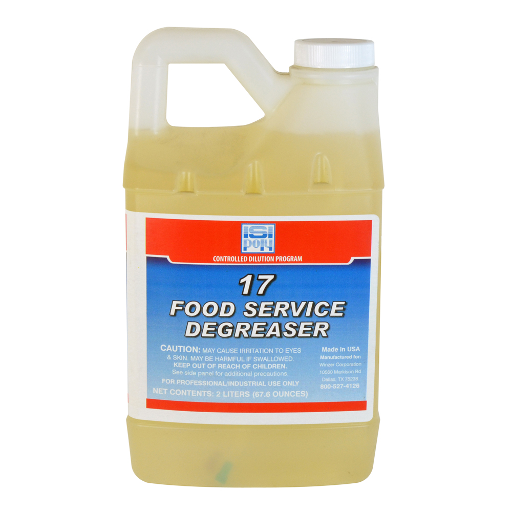 Cdp #17 Food Service Degreaser - 2 Liters - Pack of 4