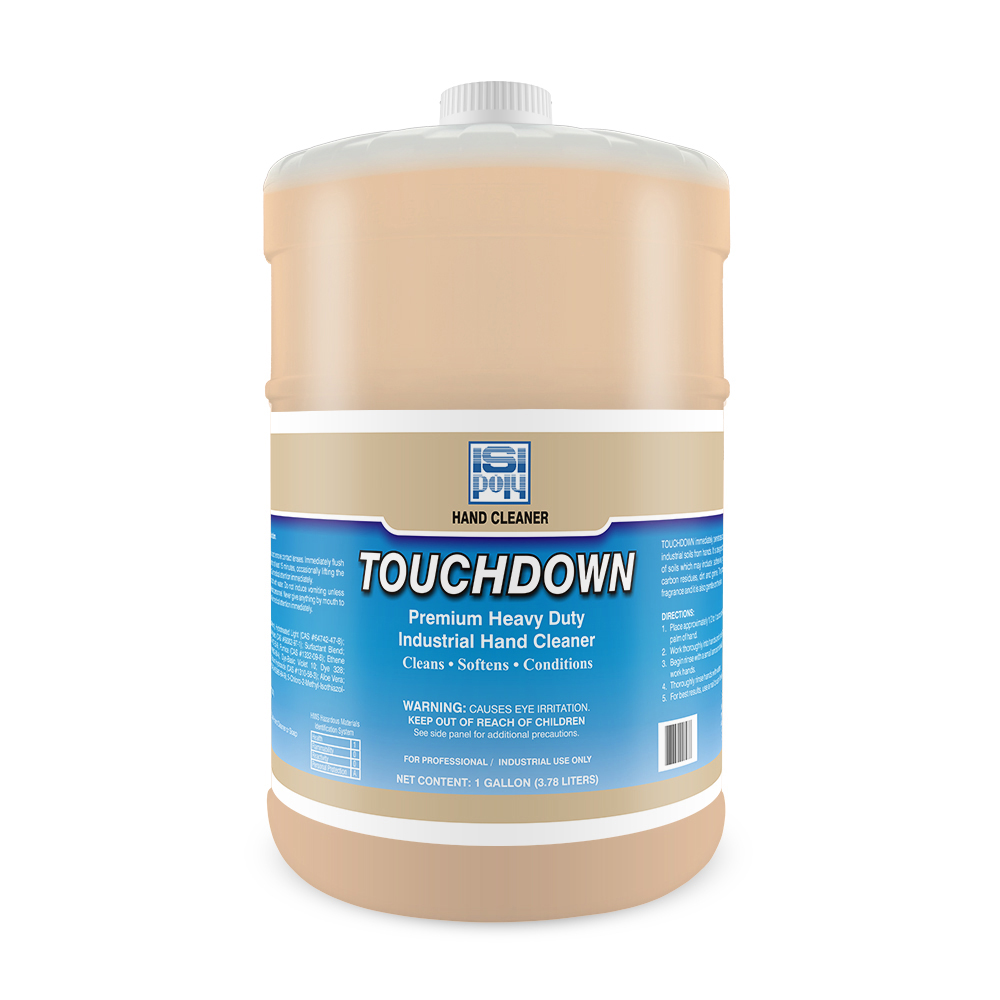 Isi-Poly Touchdown With Dispenser - 1 Gallon - Pack of 4