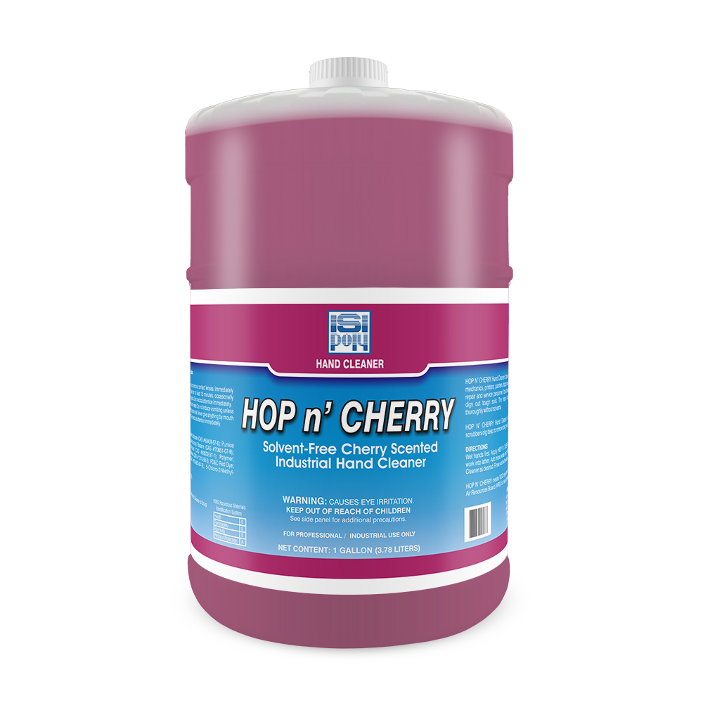 Isi-Poly Hop N Cherry - 1 Gallon - Pack of 4