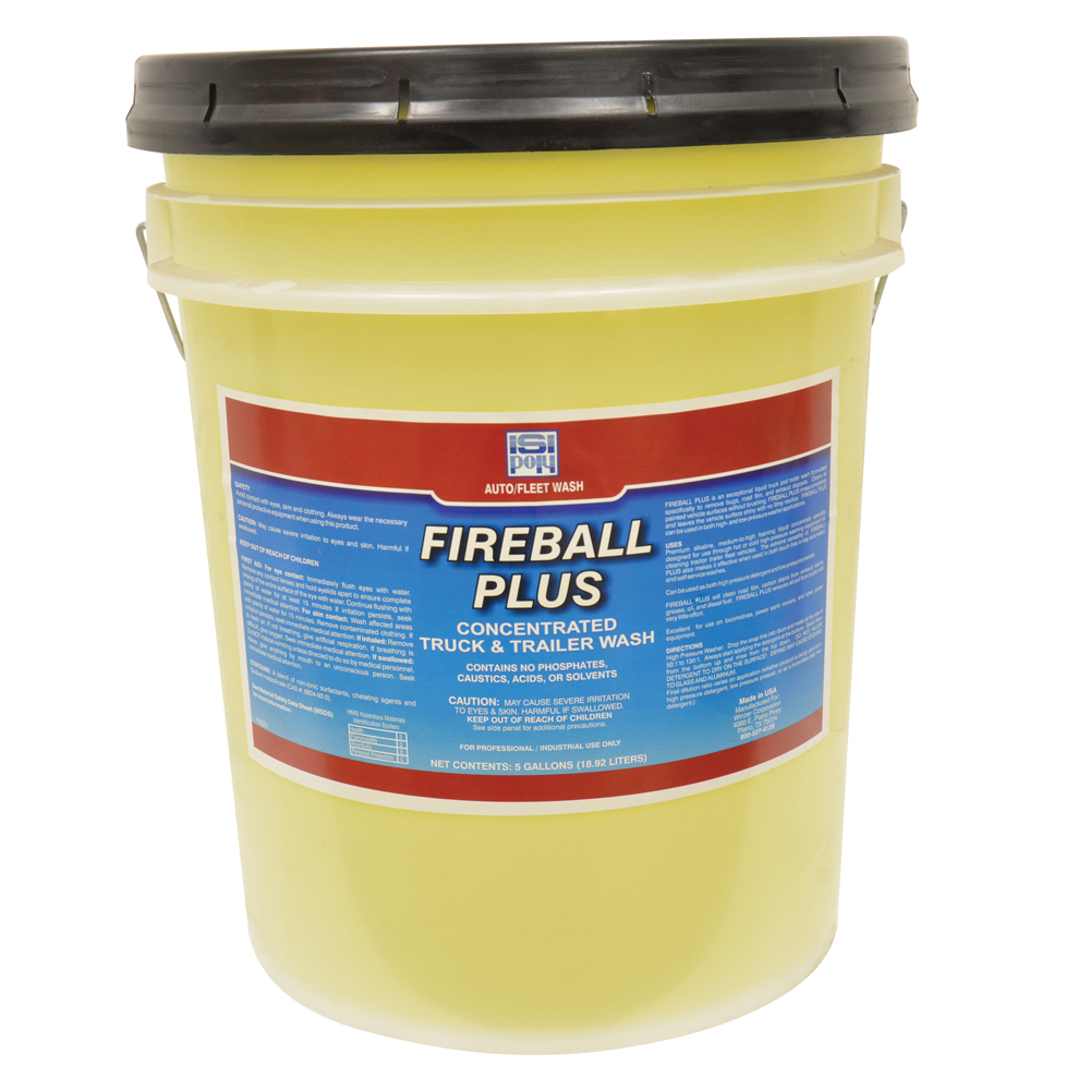 Isi-Poly Fireball Plus Concentrated Truck & Trailer Wash - 5 Gallons
