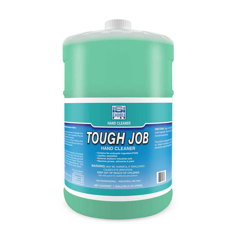 Isi-Poly Tough Job With Dispenser - 1 Gallon - Pack of 4