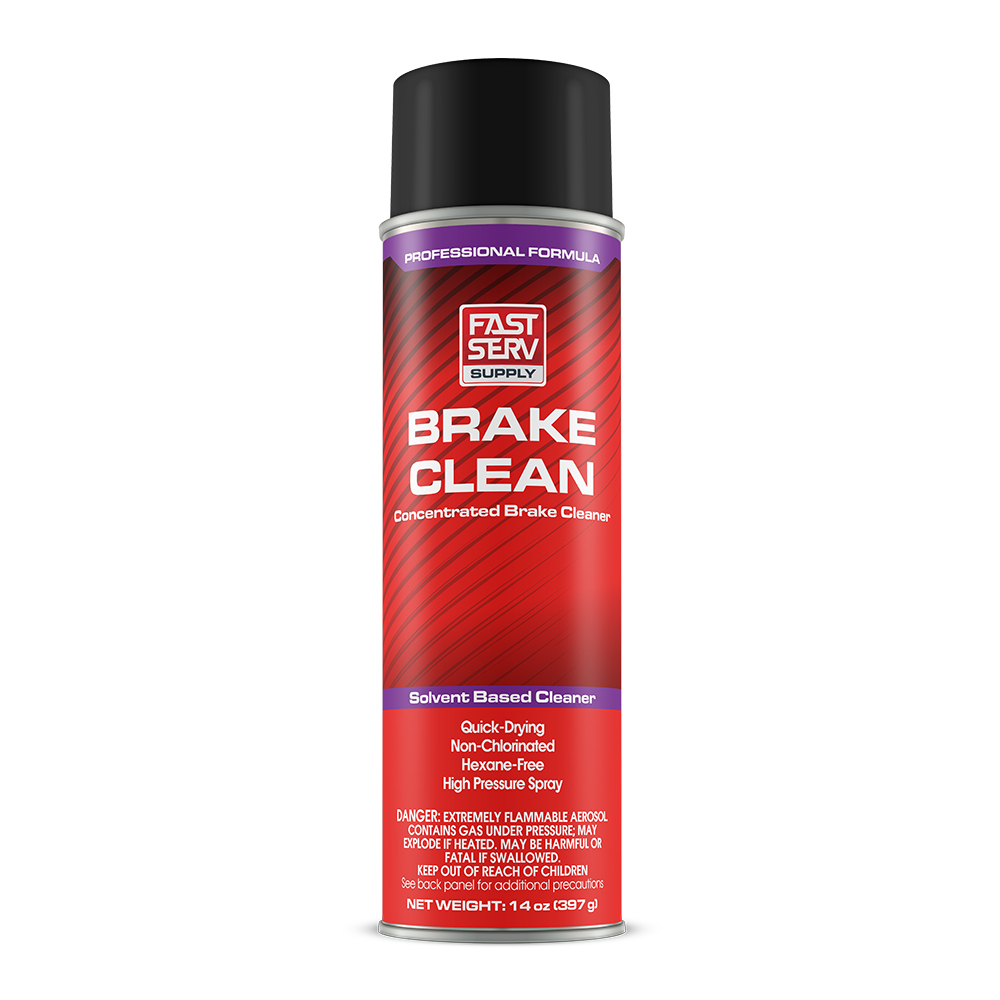 FastServ Supply Brake Clean Concentrated Brake Cleaner